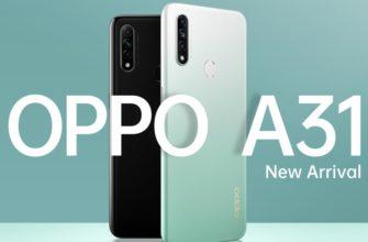 Обзор смартфона Oppo A31