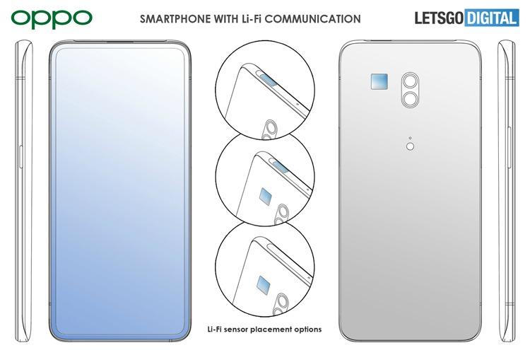 Смартфон с Li-Fi