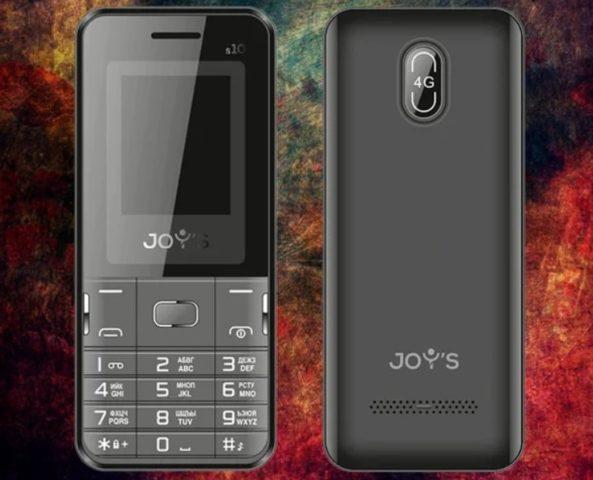 В России доступен новый кнопочный телефон Joy's S10 с Whatsapp