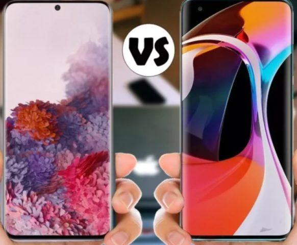 Samsung или Xiaomi - сравнение смартфонов