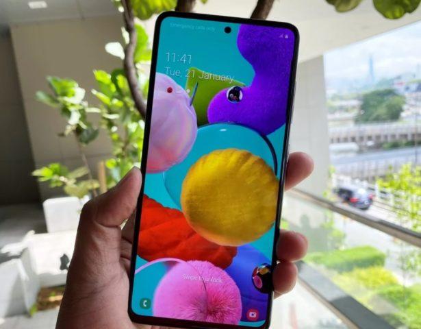 Безлимитный интернет в МТС за Samsung Galaxy A51