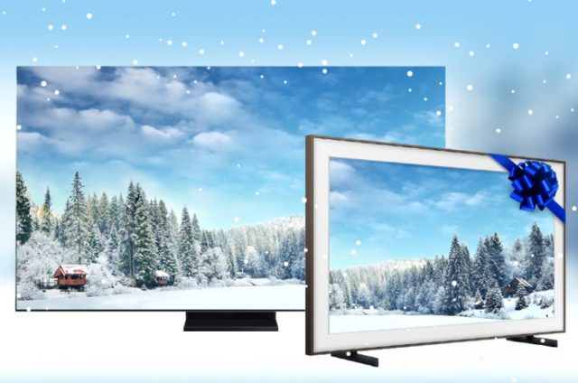При покупке телевизора Samsung дарит второй в подарок
