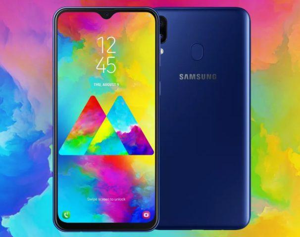 Samsung Galaxy M20 – одна из моделей линейки М с емким аккумулятором