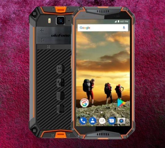 Обзор смартфона Ulefone Armor 3W