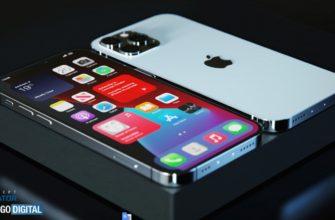 Неофициальное изображение смартфона iPhone 12S Pro