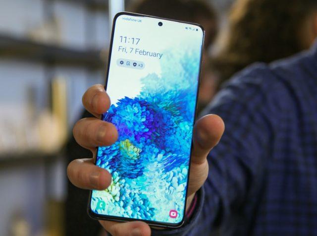 Скидка на смартфон Samsung Galaxy S20+