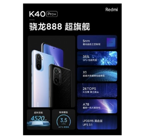 Характеристики Redmi K40 Pro