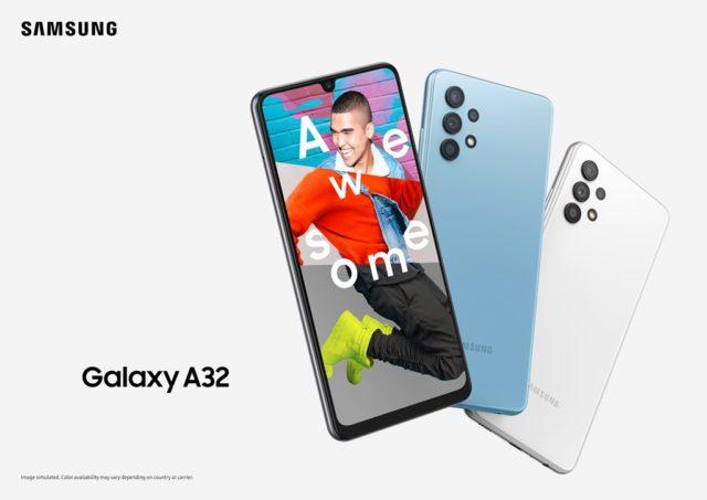 Необычный дизайн выведет Samsung Galaxy A32 в топ: стартовали продажи смартфона в России