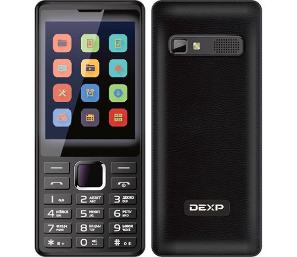 Кнопочный телефон нового поколения: DEXP с огромным экраном и хорошей по мощности батареей
