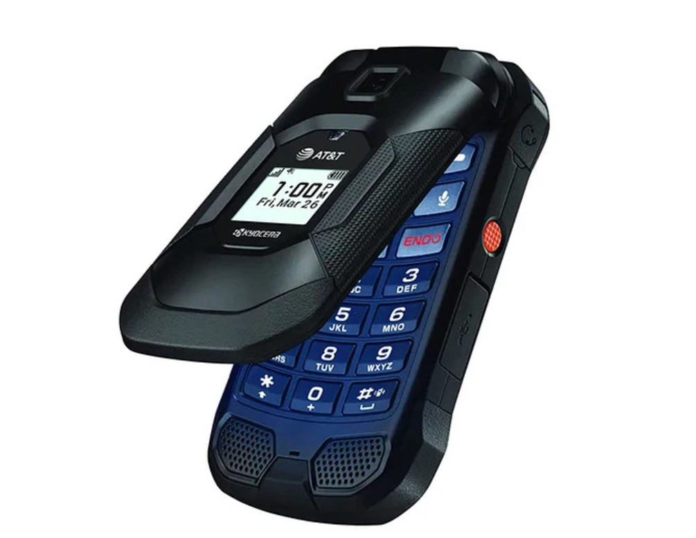 Прямиком из Японии: кнопочник на Андроиде, с приличной камерой, LTE и в защищенном корпусе