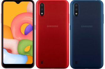 Обзор Samsung Galaxy A01