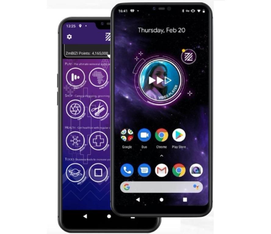 ZmBIZI – смартфон, владелец которого получает деньги за просмотр рекламы