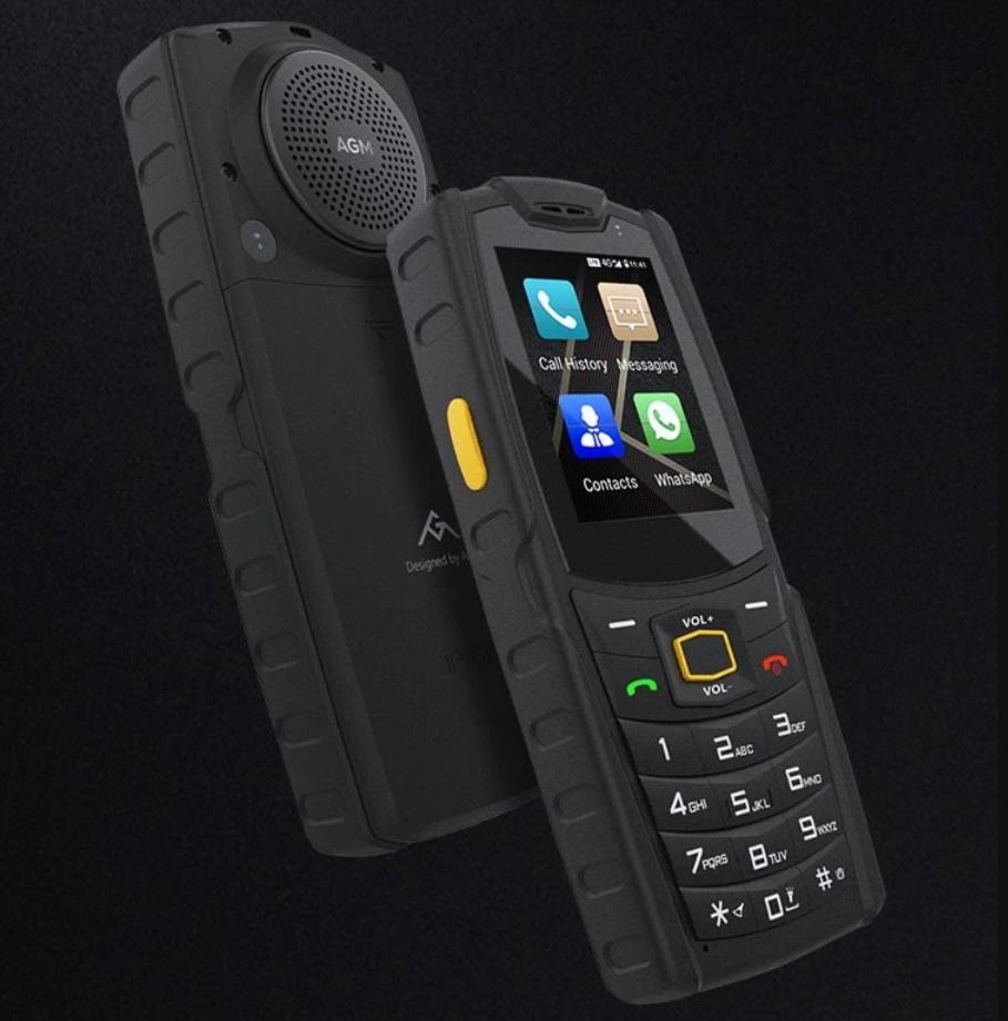 Абсолютно неубиваемый смарфтон с кнопками дешевле 100 долларов: защита IP68 и MIL-STD-810G