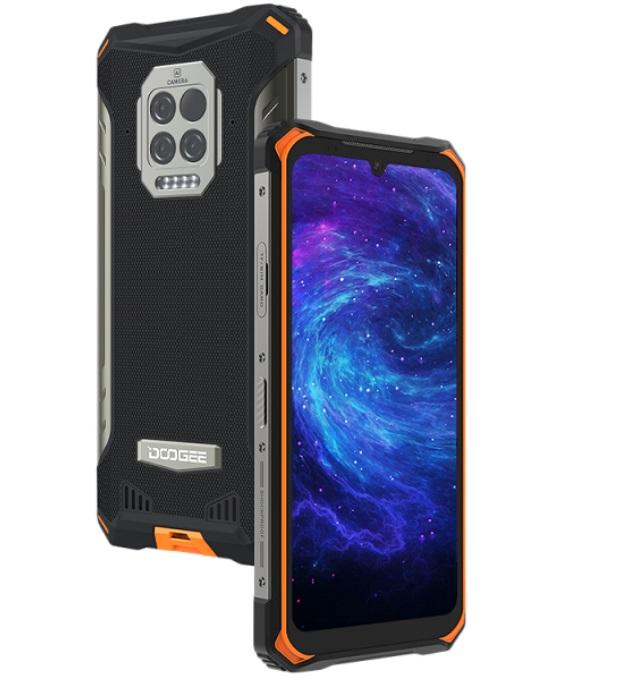 Батареи 8500 мАч точно хватит надолго: смартфон с 8 ГБ ОЗУ, защитой IP69K, термометром и Helio P60
