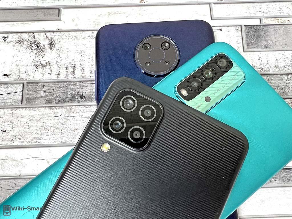 Бюджетные смартфоны с камерой 48 МП